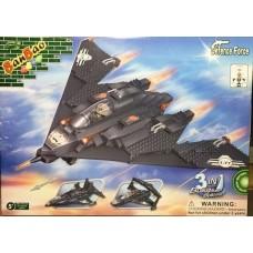 BANBAO-8477 - MILITARY AVION-402 PIESE