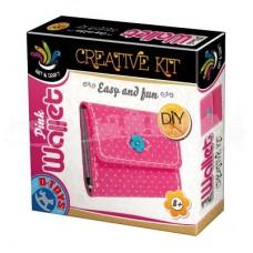 PINK WALLET - SET CREATIE - PORTOFEL