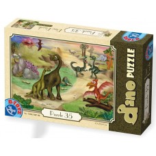 PUZZLE 35  PIESE DINO