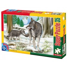 PUZZLE 35  PIESE ANIMALE