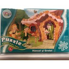 PONY 60 PUZZLE - HANSEL SI GRETEL