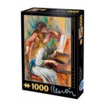 PUZZLE 1000 - RENOIR PIERRE AUGUSTE (1841-1919) - GIRLS AT THE PIANO - 66909-09