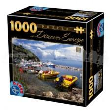 DESCOPERA EUROPA - PUZZLE 1000 PCS - CORFU - GRECIA-03