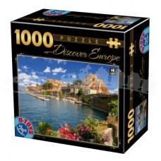 DESCOPERA EUROPA - PUZZLE 1000 PCS - COMO - ITALIA-07