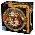 PUZZLE ROTUND - 525 PCS-02 - BOTTICELLI SANDRO (1445-1510) MADONA DEL MAGNIFICAT