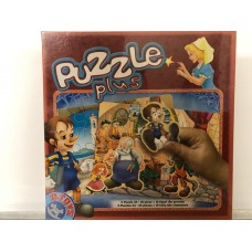 PUZZLE PLUS - (2 PUZZLE CU 24 SI 35 PIESE + 18 FIGURINE DIN POVESTE)