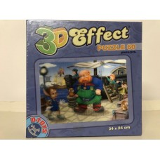 PUZZLE 3D EFFECT - 60 PIESE