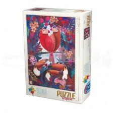 ANDREA KURTI - PAPAGALI - PUZZLE 1000 PCS