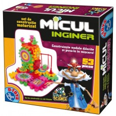 MICUL INGINER 53 PCS-SET CONSTRUCTII MOTORIZAT