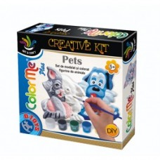 COLOR ME PLUS PETS (CAT & DOG) - SET DE MODELAT SI PICTAT - FIGURINE ANIMALE