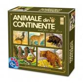 ANIMALE DIN CONTINENTE - EDITIE DE LUX - JOC COLECTIV DE CALCUL SI PERSPICACITATE
